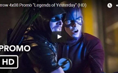 "Crossover #Flarrow: Promo Arrow 4×08 ""Legends of Yesterday"""